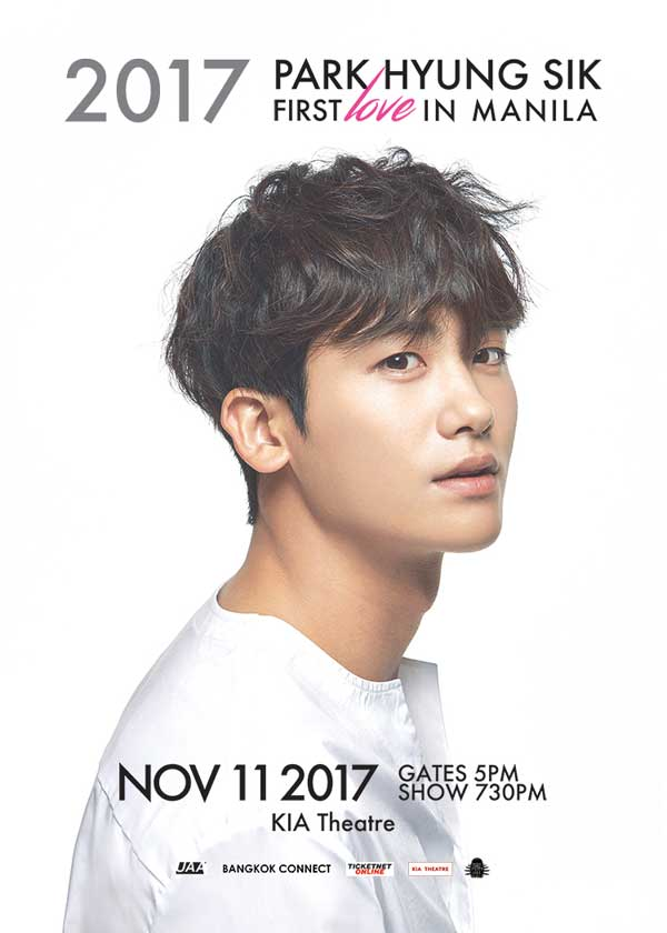 2017 Park Hyung Sik First Love in Manila