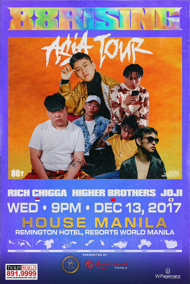 Rich Chigga Live in Manila & 88 Rising Asia Tour