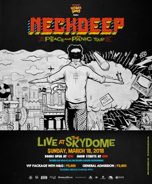 Neck Deep: The Peace and The Panic Tour Live at the Skydome