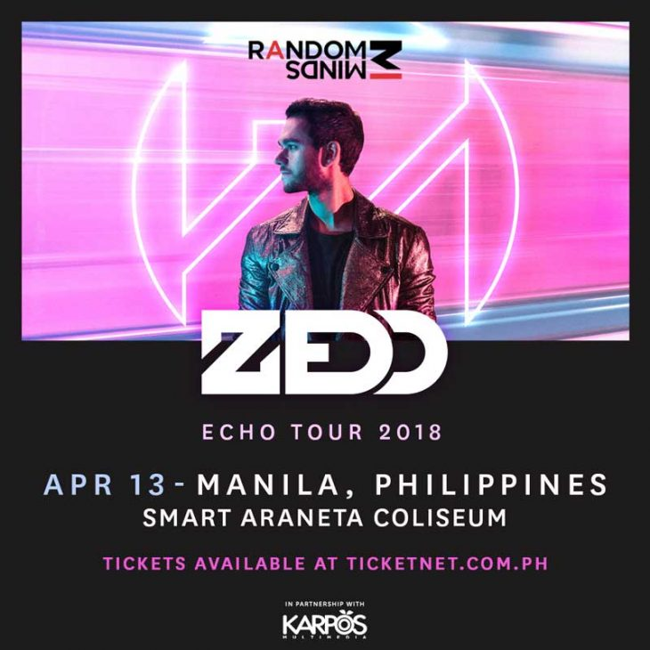 Echo Asia Tour: Zedd Live in Manila