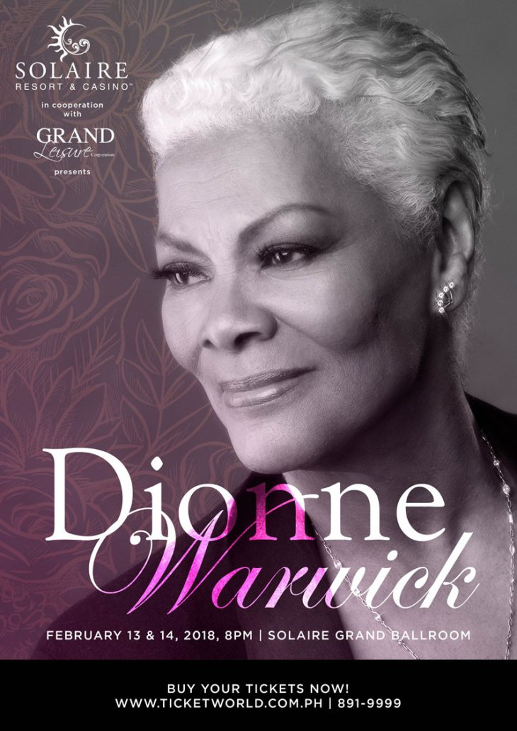 "Perfect songs, happy moments, feel the love at ""Dionne Warwick: A Valentine Concert"