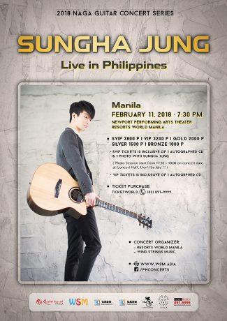 Sungha Jung Live in Manila and Cebu 2018