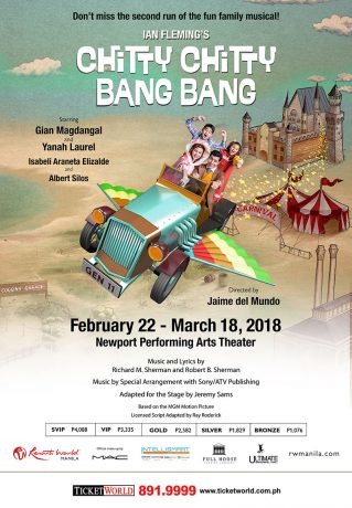 Chitty Chitty Bang Bang Musical 2018