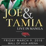 Joe and Tamia Live in Manila 2018