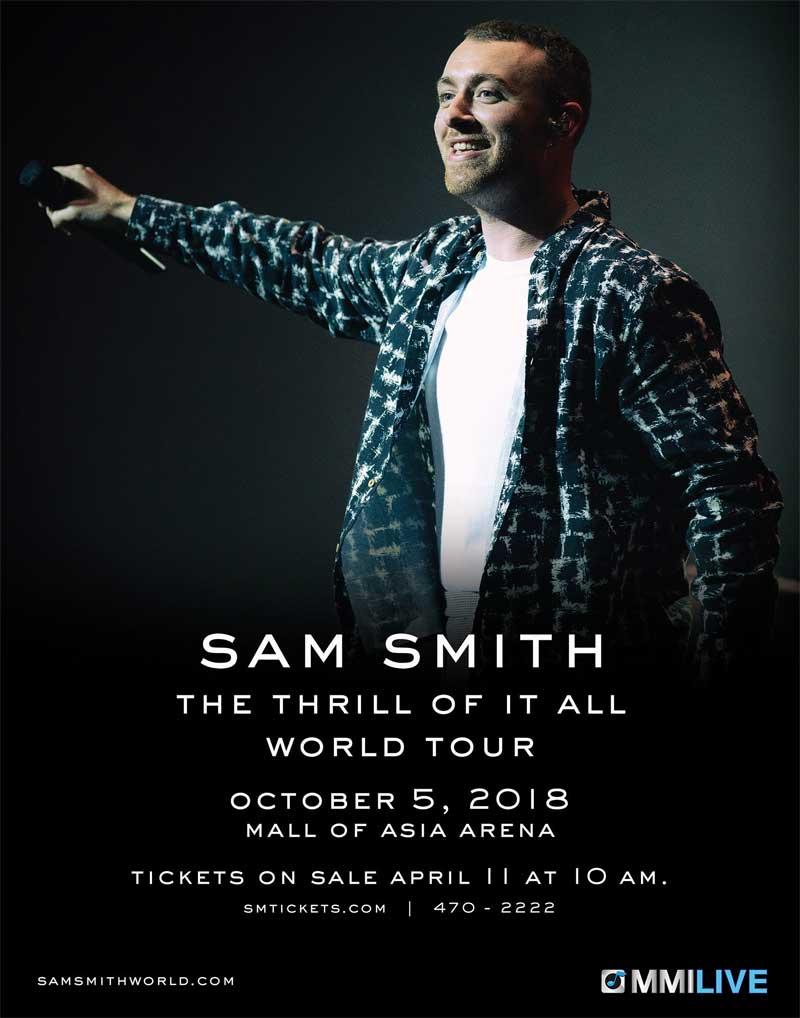 Sam Smith Tour Dc