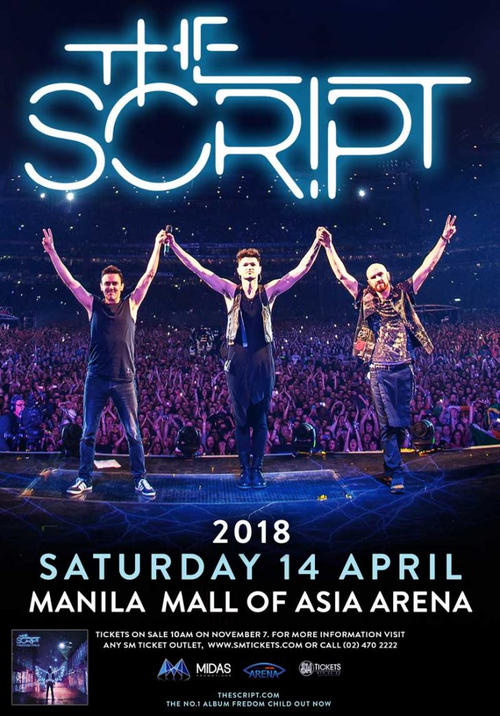 The Script Freedom Child Tour Manila 2018