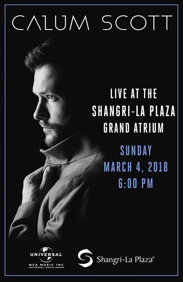 Calum Scott Live in Manila 2018