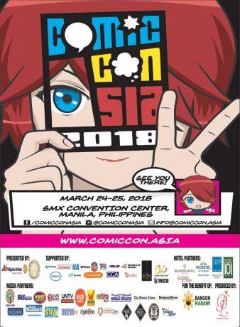 ComicCon Asia 2018