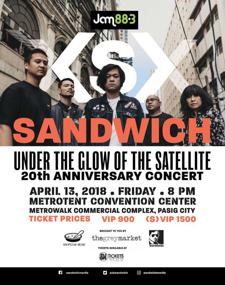 Sandwich 20th Anniversary Concert