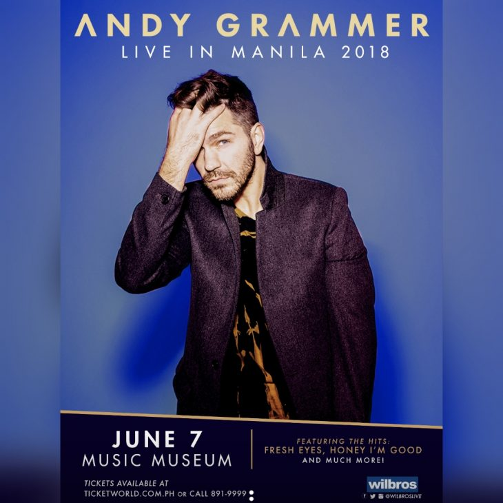 Andy Grammer Live in Manila
