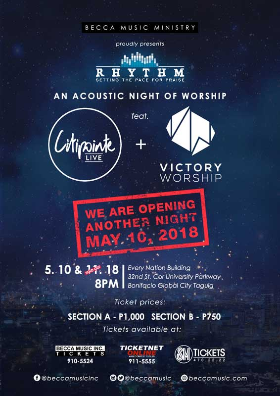Citipointe Live + Victory Church Live in Manila 2018