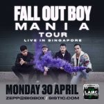 Fall Out Boy Live in Singapore 2018