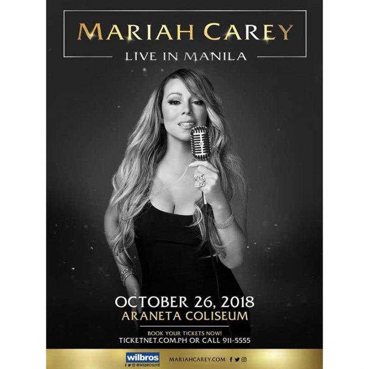 Mariah Carey Live in Manila 2018