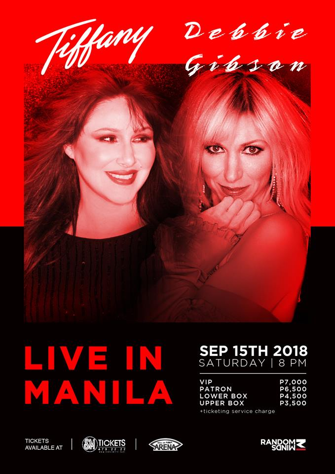 Tiffany and Debbie Gibson Live in Manila 2018