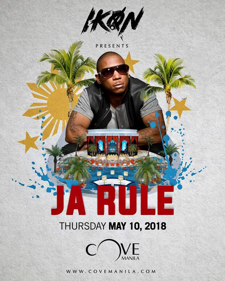 Cove Manila Brings the Ultimate Throwback with Ja Rule