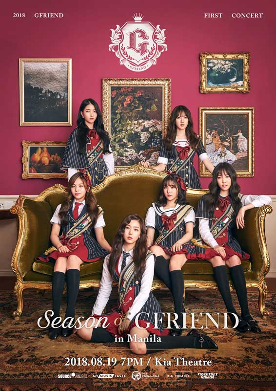 GFriend Live in Manila 2018 moved to August 26