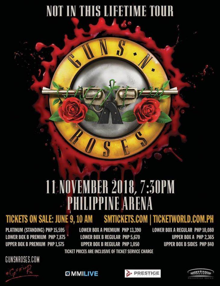 Guns N' Roses Live in Manila 2018