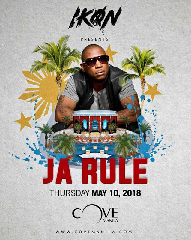 Ja Rule Live at Cove Manila