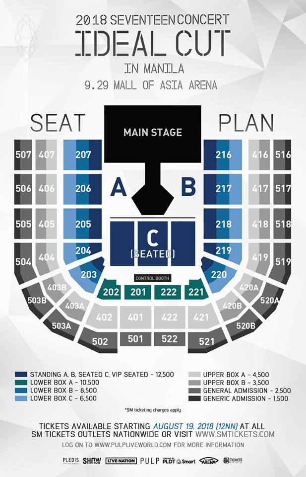 Seventeen Live In Manila 2018 Philippine Concerts