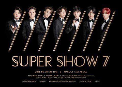 Super Show 7 - Super Junior Live in Manila 2018