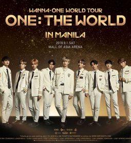 Wanna One Live in Manila 2018