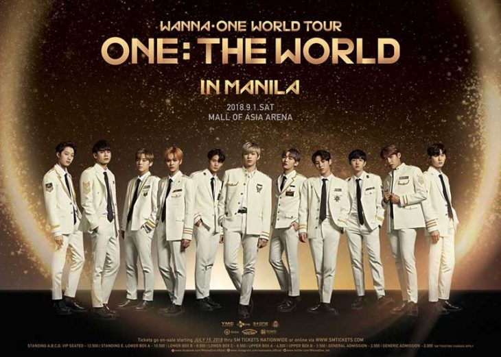 Wanna One Live in Manila 2018