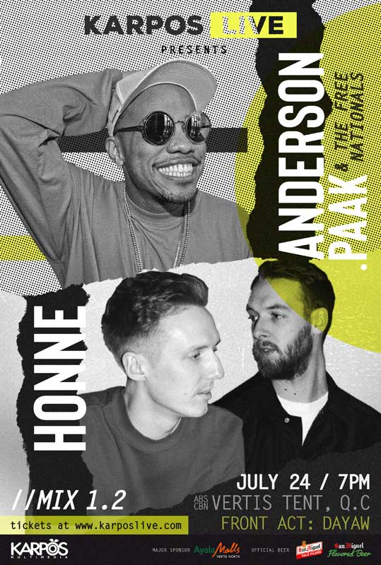Karpos Live with Anderson .Paak and Honne