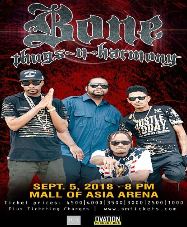 Bone Thugz-N-Harmony Live in Manila 2018