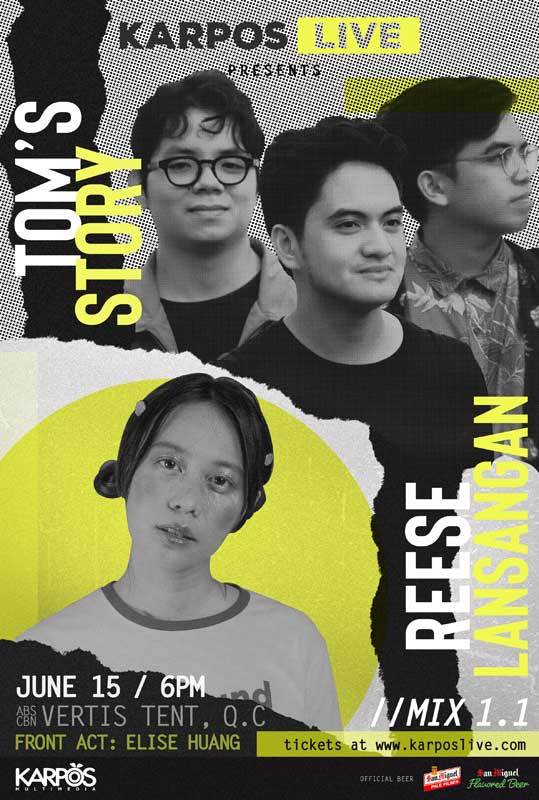 Karpos Live with Reese Lansangan and Tom's Story