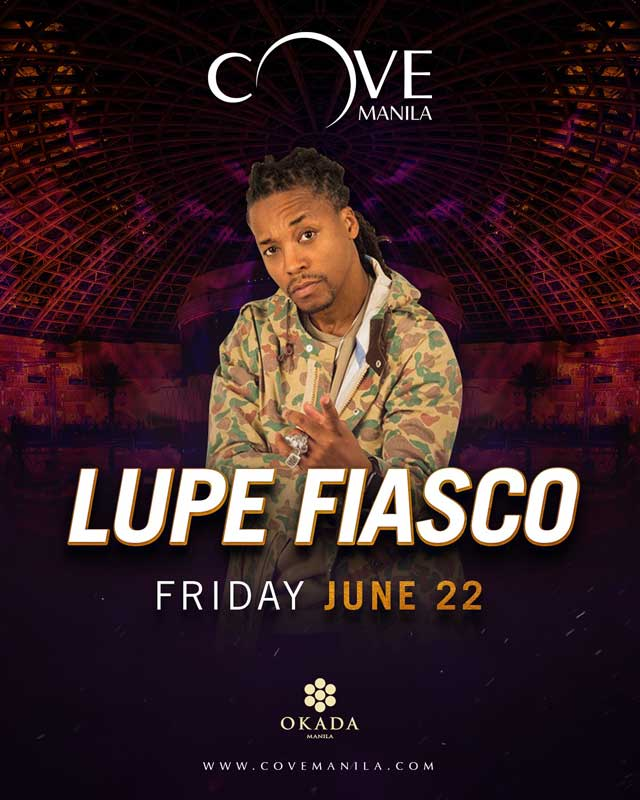 Lupe Fiasco Makes His Way Back to the Philippines on Cove Manila Stage