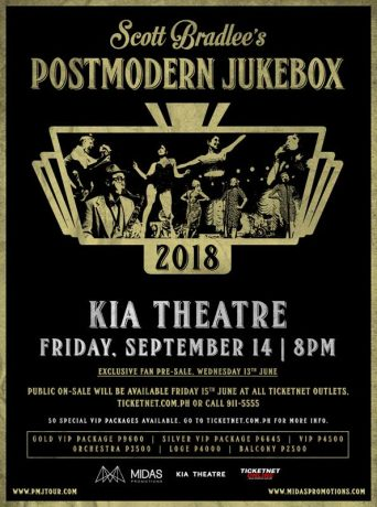 Postmodern Jukebox Live in Manila 2018