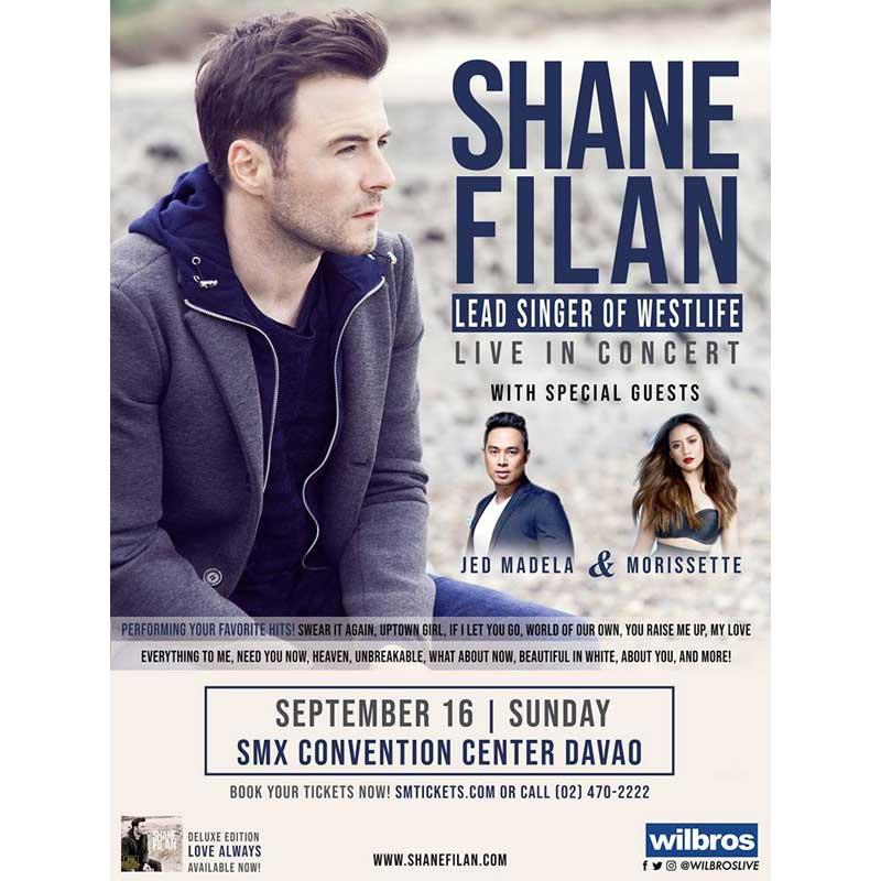Shane Filan Live in Manila 2018 | Philippine Concerts