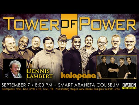 Tower of Power with Dennis Lambert and Kalapana Live in Manila