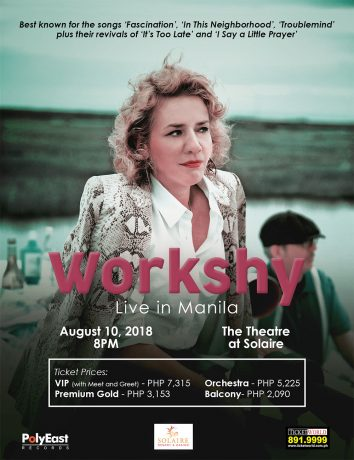 Workshy Live in Manila 2018