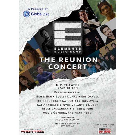 Elements Music Camp: The Reunion Concert