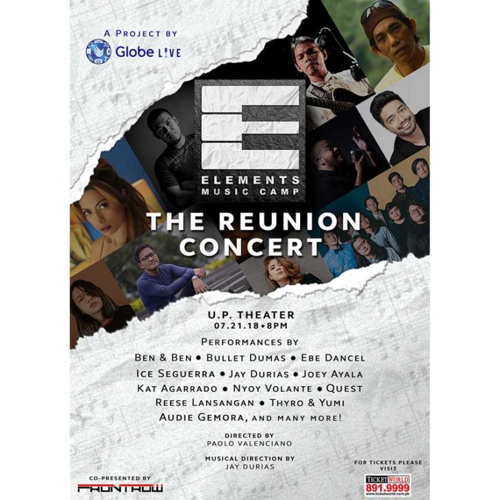 Elements Music Camp: The Reunion Concert