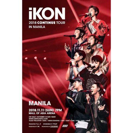 iKON Live in Manila 2018