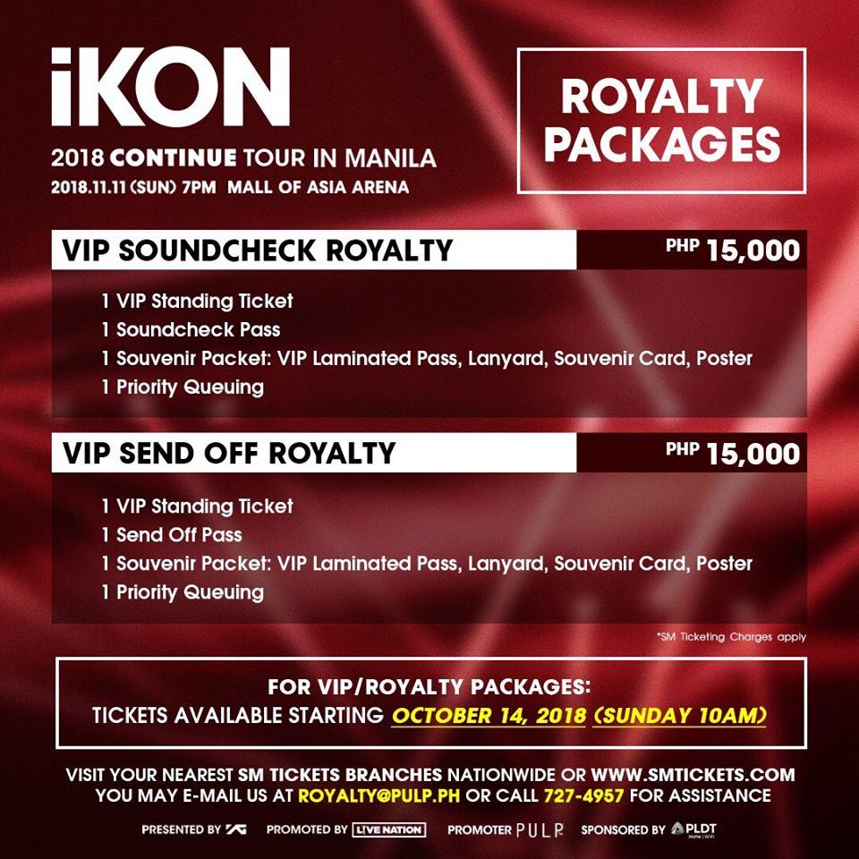 Ikon Live In Manila 2018 Philippine Concerts
