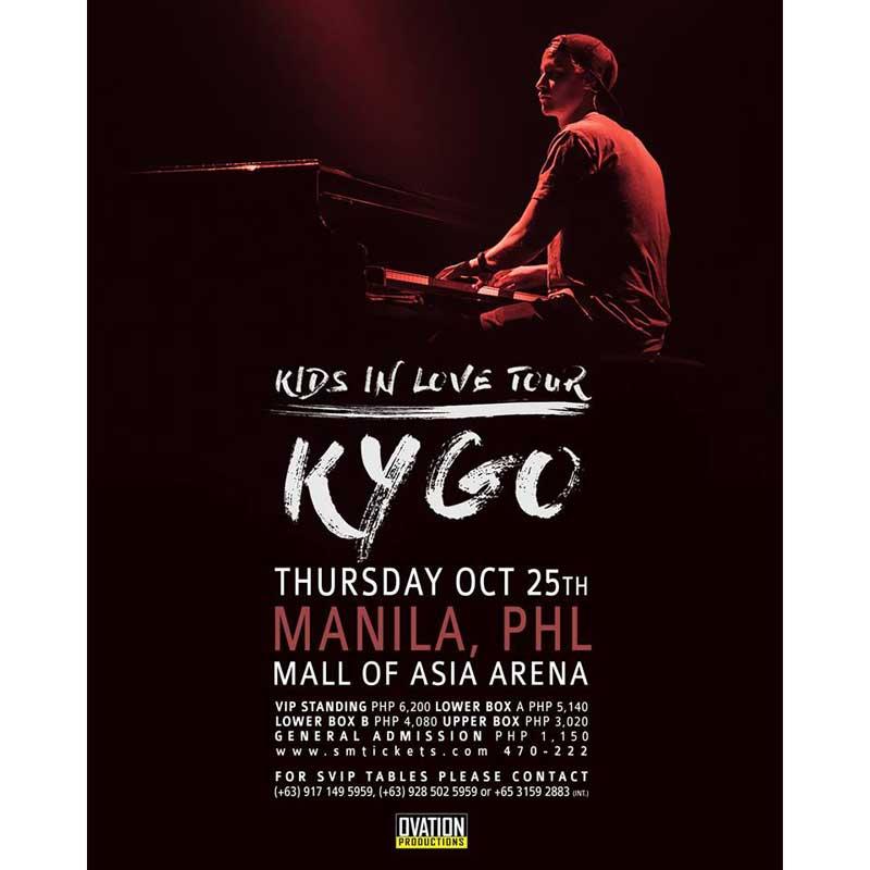 Kygo Live in Manila 2018 | Philippine Concerts