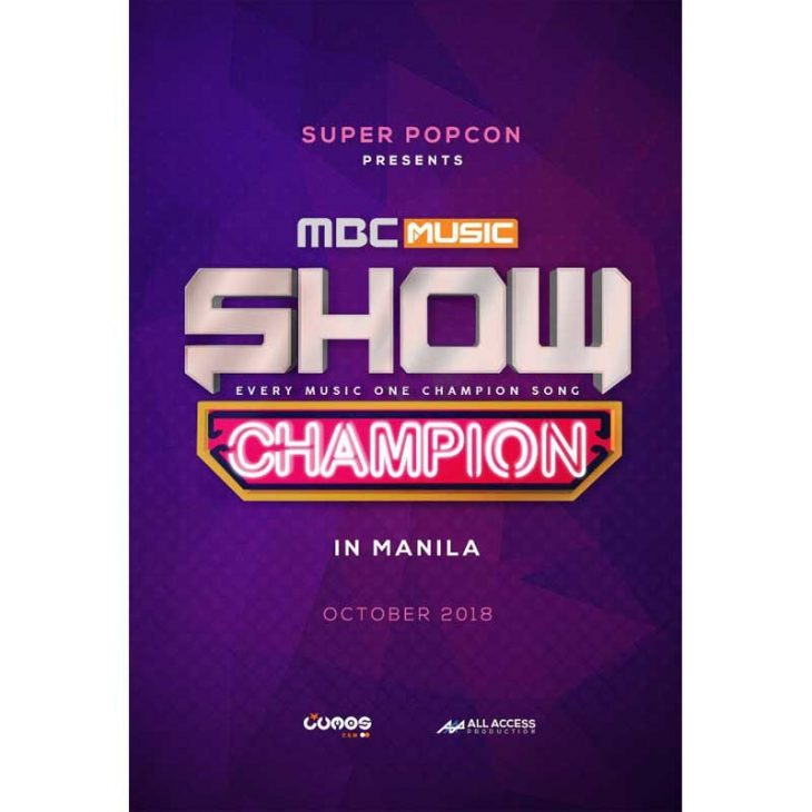 MBC Music Show Champion Returns to Manila for the 2nd Time