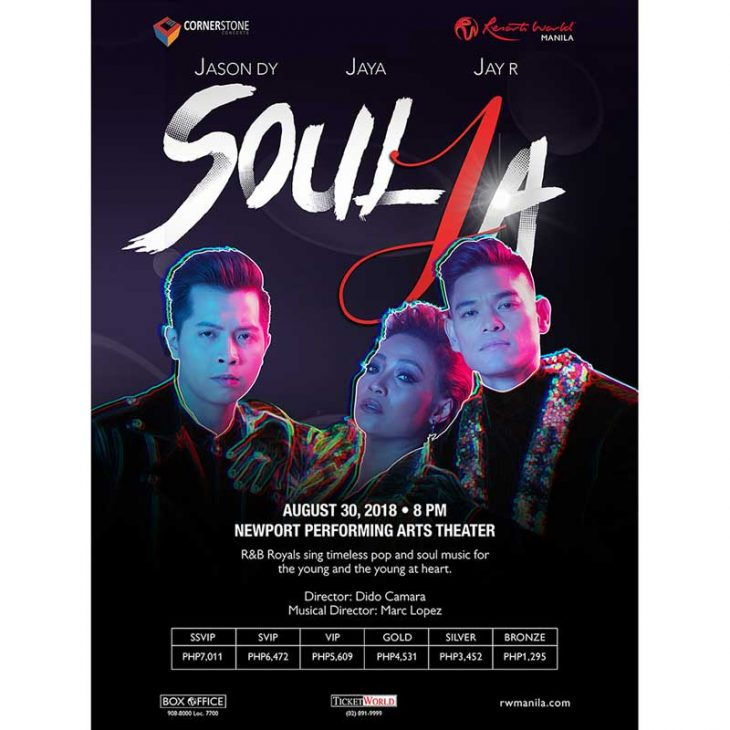 SoulJa – R&B Royalties Jason Dy, Jaya, Jay R