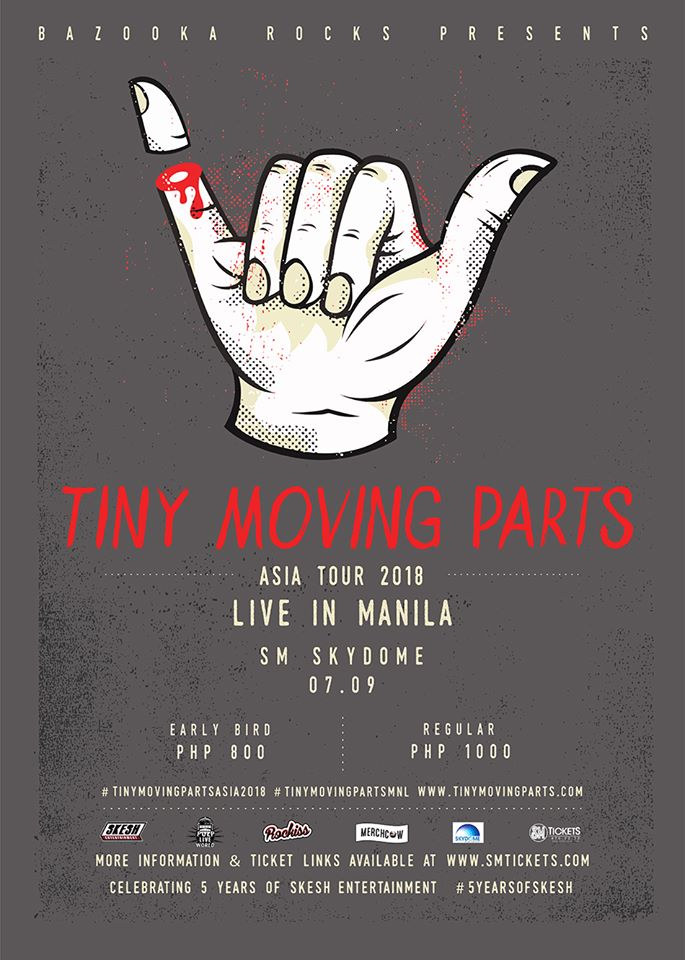 Tiny Moving Parts Live in Manila 2018