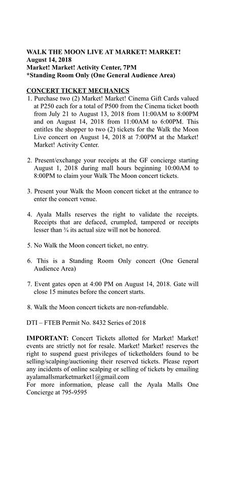 Walk the Moon Live in Manila 2018 | Philippine Concerts