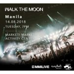 Walk the Moon Live in Manila 2018