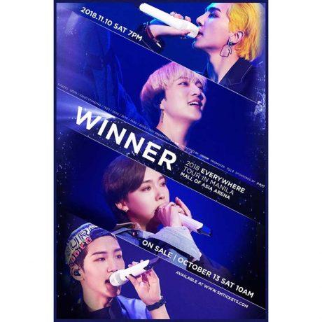 WINNER Live in Manila 2018