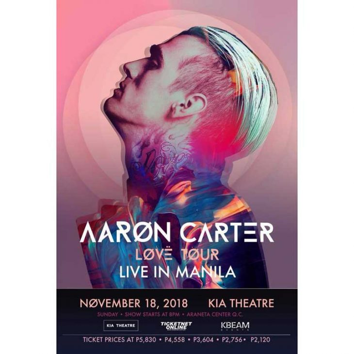 Aaron Carter Live in Manila 2018