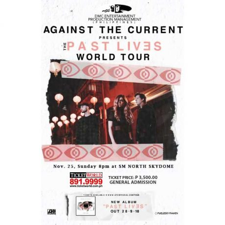 Against The Current Live in Manila 2018