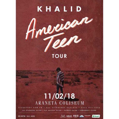 Khalid Live in Manila 2018