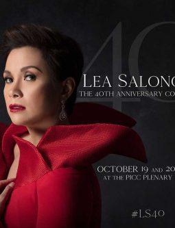 Lea Salonga 40th Anniversary Concert