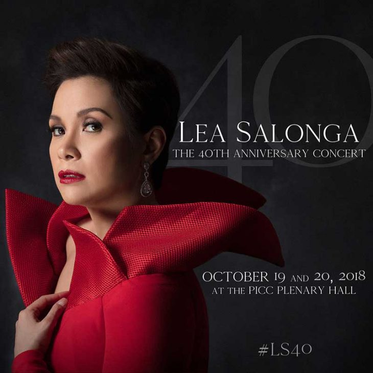 Lea Salonga 40th Anniversary Concert